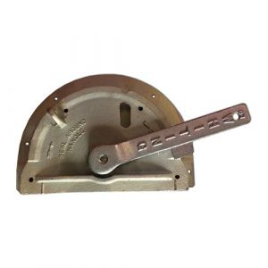 Whiting Half Moon Lock 75-10 Surface Mounted