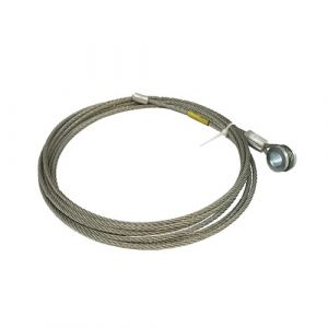 "Mobile Doors 110"" Shutter Door Cable"