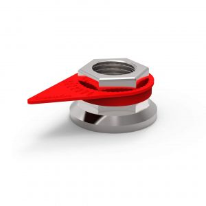 Checkpoint Wheel Nut Indicators - Red