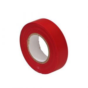 PVC Insulation Tape 19mm Red 20m