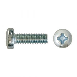 Metric Machine Screws - Pan Head Pozi