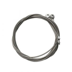 Galvanised Shutter Door Cables (Pair)