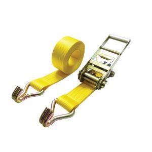 10,000kg Ratchet Straps C/W Claw Hooks