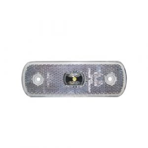 24v LED Clear Front Marker Lamp
