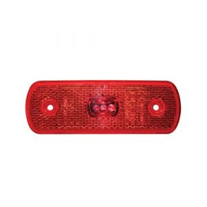 24v LED Red Rear Marker Lamp