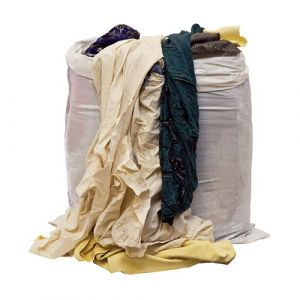 Mixed Cotton Wiping Cloths 10kg Bag