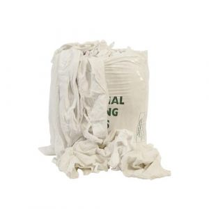 White Wiping Cloths 10kg Bag