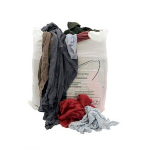 T Shirt Wiping Cloths 10Kg Bag
