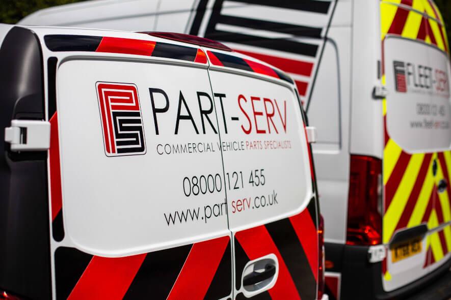 Part-Serv Delivery Van